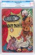 Golden Age (1938-1955):Classics Illustrated, Classic Comics #8 Arabian Nights - Original Edition (Gilberton,1943) CGC FN+ 6.5 Off-white to white pages....
