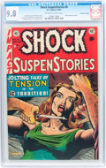 Golden Age (1938-1955):Horror, Shock SuspenStories #8 Gaines File pedigree 4/12 (EC, 1953) CGCNM/MT 9.8 Off-white to white pages....