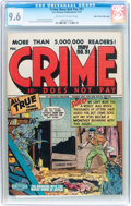 Golden Age (1938-1955):Crime, Crime Does Not Pay #51 Mile High pedigree (Lev Gleason, 1947) CGC NM+ 9.6 Off-white to white pages....