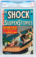 Golden Age (1938-1955):Horror, Shock SuspenStories #11 Gaines File pedigree 5/11 (EC, 1953) CGC NM9.4 White pages....