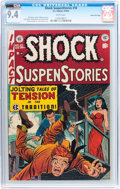 Golden Age (1938-1955):Horror, Shock SuspenStories #10 Gaines File pedigree 10/12 (EC, 1953) CGCNM 9.4 White pages....