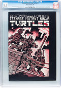Modern Age (1980-Present):Alternative/Underground, Teenage Mutant Ninja Turtles #1 (Mirage Studios, 1984) CGC VF+ 8.5Off-white to white pages....