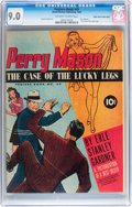 Golden Age (1938-1955):Crime, Feature Books #49 Perry Mason - Mile High pedigree (David McKay Publications, 1946) CGC VF/NM 9.0 Off-white to white pages....
