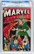 Golden Age (1938-1955):Superhero, Marvel Mystery Comics #79 (Timely, 1946) CGC NM 9.4 Cream to off-white pages....