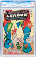 Silver Age (1956-1969):Superhero, Justice League of America #18 Pacific Coast pedigree (DC, 1963) CGCNM/MT 9.8 White pages....