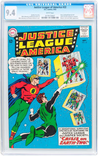 Justice League of America #22 (DC, 1963) CGC NM 9.4 White pages