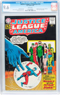 Silver Age (1956-1969):Superhero, Justice League of America #14 (DC, 1962) CGC NM+ 9.6 White pages....