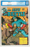 Golden Age (1938-1955):Superhero, Blue Beetle #32 Mile High pedigree (Fox Features Syndicate, 1944)CGC NM 9.4 Off-white to white pages....