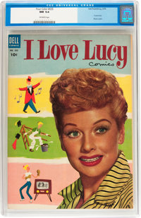 Four Color #535 I Love Lucy (Dell, 1954) CGC NM 9.4 Off-white pages