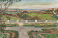 Paintings, LOUIS FLOUTIER (French, 1882-1936). View from the Gardens. Oil on canvas. 21 x 32 inches (53.3 x 81.3 cm). Signed lower ...