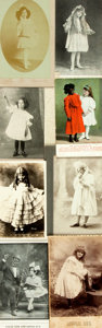 "Miscellaneous:Ephemera, [Uncle Tom's Cabin]. Group of Eight Cabinet Cards/PostcardsDepicting ""Little Eva"" from Uncle Tom's Cabin. Various s..."
