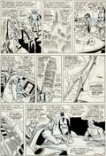 Original Comic Art:Panel Pages, Don Heck and Dick Ayers Avengers #12 Page 7 Original Art(Marvel, 1965)....