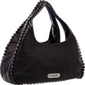 "Luxury Accessories:Bags, Chanel Black Lambskin Leather Hobo Bag. Excellent Condition.15"" Width x 7"" Height x 6"" Depth. ..."
