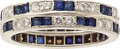 Estate Jewelry:Rings, Diamond, Sapphire, Platinum Ring, Tiffany & Co.. ...
