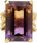 Estate Jewelry:Rings, Ametrine, Gold Ring. ...