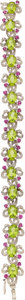 Estate Jewelry:Bracelets, Peridot, Diamond, Pink Sapphire, White Gold Bracelet. ...
