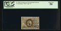 Fractional Currency:Second Issue, Fr. 1286 25¢ Second Issue PCGS About New 50.. ...