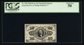 Fractional Currency:Third Issue, Fr. 1256 10¢ Third Issue PCGS About New 50.. ...