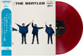 Music Memorabilia:Recordings, Beatles Help! Red Vinyl Stereo LP With OBI (Japan - OdeonOP7387, 1965). ...