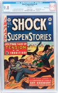 Golden Age (1938-1955):Horror, Shock SuspenStories #9 Gaines File pedigree (EC, 1953) CGC NM/MT9.8 White pages....