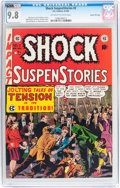 Golden Age (1938-1955):Horror, Shock SuspenStories #2 Gaines File pedigree (EC, 1952) CGC NM/MT9.8 Off-white to white pages....
