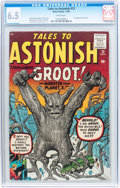 Silver Age (1956-1969):Science Fiction, Tales to Astonish #13 (Atlas, 1960) CGC FN+ 6.5 White pages....