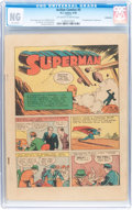 Golden Age (1938-1955):Superhero, Action Comics #3 (DC, 1938) CGC NG (No Grade) Off-white to white pages....