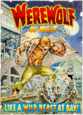 Original Comic Art:Covers, Mike Ploog Werewolf By Night #2 Cover Recreation OriginalArt (2000)....
