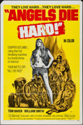 """Movie Posters:Exploitation, Angels Die Hard (New World, 1970). One Sheet (27"""" X 41"""") &Photos (3) (8"""" X 10""""). Exploitation.. ... (Total: 4 Items)"""