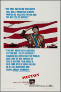 "Movie Posters:War, Patton (20th Century Fox, 1970). One Sheet (27"" X 41"") & Photos(6) (8"" X 10""). War.. ..."