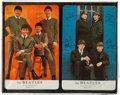 Music Memorabilia:Memorabilia, Beatles Unopened Package of Two Playing Card Decks by Arrco(1964)....