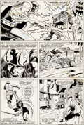"Original Comic Art:Panel Pages, Barry Smith and Frank Giacoia Conan the Barbarian #5""Zukala's Daughter"" Page 3 Original Art (Marvel, 1971)...."