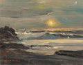 Fine Art - Painting, American, ROBERT WILLIAM WOOD (American, 1889-1979). Laguna Beach. Oilon canvas. 11 x 14 inches (27.9 x 35.6 cm). Signed lower le...