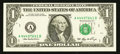 Error Notes:Shifted Third Printing, Fr. 1932-A $1 2006 Federal Reserve Note. Choice Crisp Uncirculated.. ...