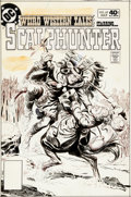 Original Comic Art:Covers, Luis Dominguez Weird Western Tales #69 Scalphunter CoverOriginal Art (DC, 1980)....