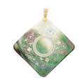Estate Jewelry:Pendants and Lockets, Mother-of-Pearl, Gold, Silver Pendant. ...