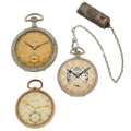 Timepieces:Pocket (post 1900), Three Open Face Pocket Watches For Parts Or Repair. ... (Total: 3 Items)