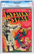 Golden Age (1938-1955):Science Fiction, Mystery in Space #4 (DC, 1951) CGC VF- 7.5 Off-white pages....