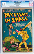 Golden Age (1938-1955):Science Fiction, Mystery in Space #8 (DC, 1952) CGC FN 6.0 Cream to off-whitepages....