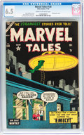 Golden Age (1938-1955):Horror, Marvel Tales #128 (Atlas, 1954) CGC FN+ 6.5 Cream to off-whitepages....