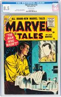 Golden Age (1938-1955):Horror, Marvel Tales #132 (Atlas, 1955) CGC VF+ 8.5 Off-white pages....