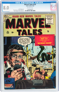 Marvel Tales #135 (Atlas, 1955) CGC VF 8.0 Off-white pages