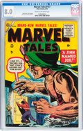 Golden Age (1938-1955):Horror, Marvel Tales #137 (Atlas, 1955) CGC VF 8.0 Cream to off-whitepages....