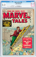 Golden Age (1938-1955):Science Fiction, Marvel Tales #138 (Atlas, 1955) CGC VF 8.0 Off-white to white pages....