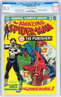 Bronze Age (1970-1979):Superhero, The Amazing Spider-Man #129 (Marvel, 1974) CGC VF+ 8.5 Off-white towhite pages....