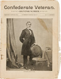 """Miscellaneous:Ephemera, Periodical: Confederate Veteran. Souvenir Number,""""Supplement to April Issue, 1864."""" Ninety-six pages,7.75""""..."""