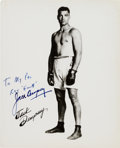 "Autographs:Celebrities, Jack Dempsey Inscribed Photograph Signed. Measuring 8"" x 10"", ""KidBlackie"" is featured in this full length promotional port..."