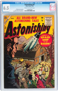 Silver Age (1956-1969):Science Fiction, Astonishing #47 (Atlas, 1956) CGC FN+ 6.5 Cream to off-whitepages....