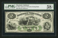Obsoletes By State:Maryland, Salisbury, MD- The Somerset and Worcester Savings Bank $2 Nov. 1, 1862. ...
