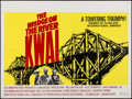 "Movie Posters:War, The Bridge on the River Kwai (Columbia, R-1972). British Quad (30"" X 40""). War.. ..."